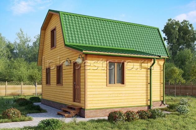 Дом из бруса 7х9 ТД13