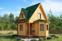 Дом из бруса 6х6 ТД14