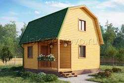 Дом из бруса 6х6 ТД16