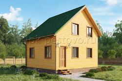 Дом из бруса 6х7 ТД20