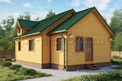 Дом из бруса 7х11 ТД28