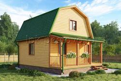 Дом из бруса 6х7,5 ТД2