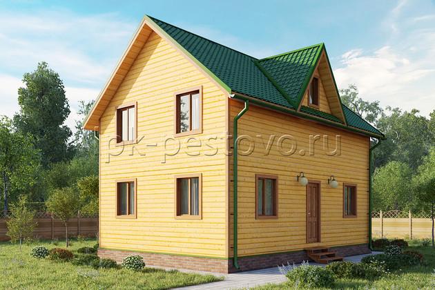 Дом из бруса 6х9 ТД5