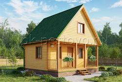 Дом из бруса 6х6 ТД9